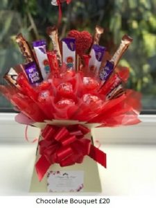 Chocolate Bouquet| Florists Widnes | Flowers by Carol
