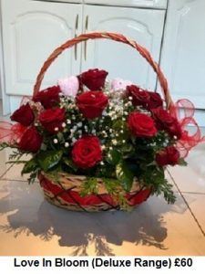 Love In Bloom (Deluxe Range) | Florists Widnes | Flowers by Carol