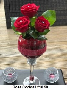 Rose Cocktail| Florists Widnes | Flowers by Carol