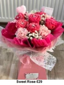 Sweet Rose | Florists Widnes | Flowers by Carol