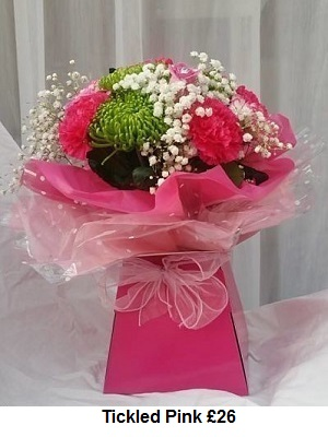 Tickled Pink | Florists Widnes | Flowers by Carol