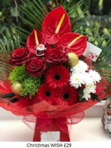 Christmas Wish| Florists Widnes | Flowers by Carol
