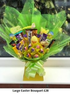Easter Chocolate Bouquets| Florists Widnes | Flowers by Carol