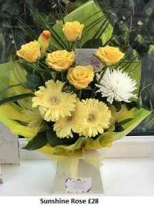 Sunshine Rose| Florists Widnes | Flowers by Carol